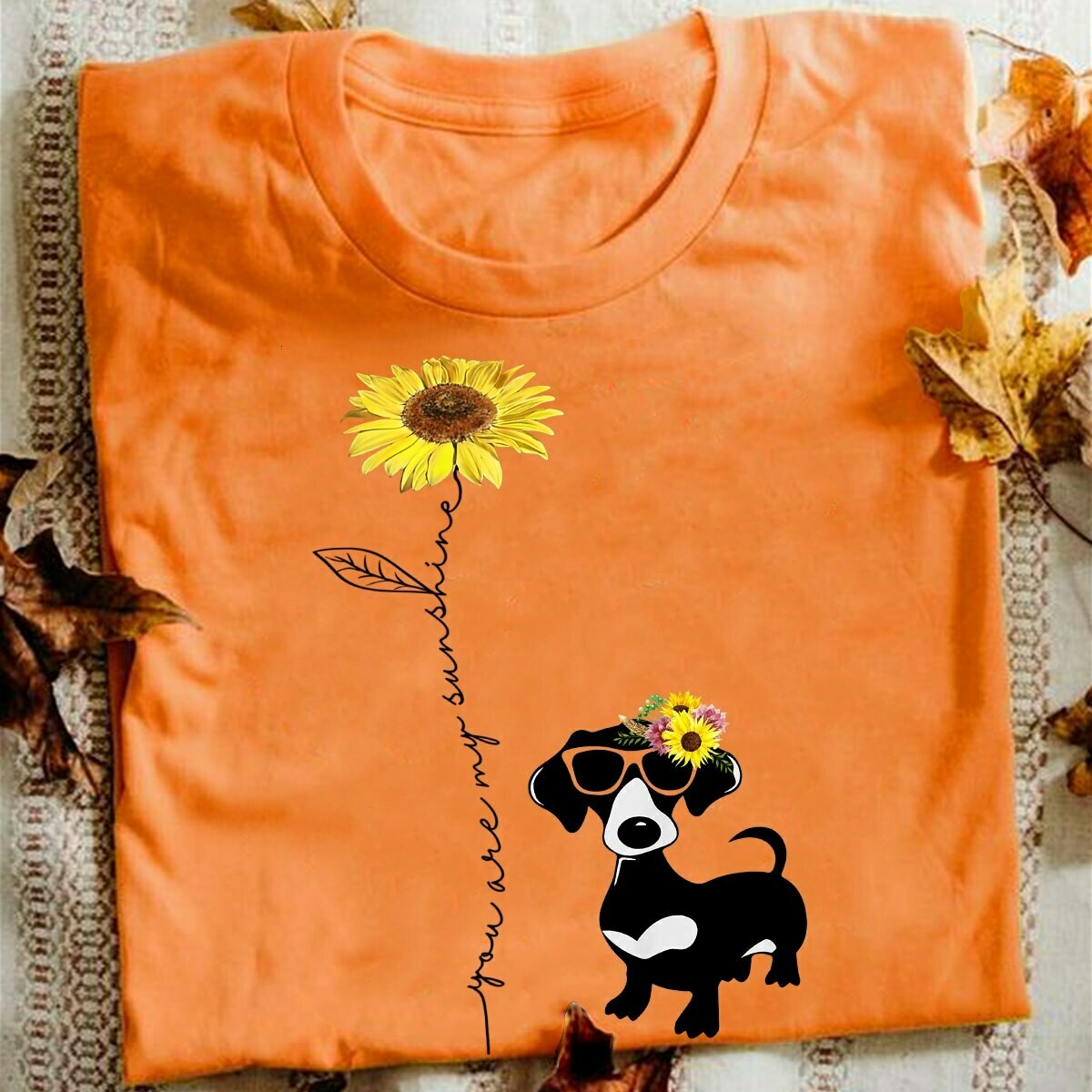 You Are My Sunshine, Dachshund Fans, Dachshund Fans Dog, Cute Dachshund Fans, dog, Dachshund Fans birthday, sunflower, sunflower