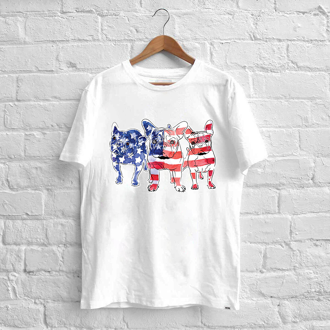 4th Of July Dachshund Red White Blue Shirt, Merica Dog shirt, America Dachshund Shirt, Patriotic USA, American Flag Dog, Memorial Day Shirt,