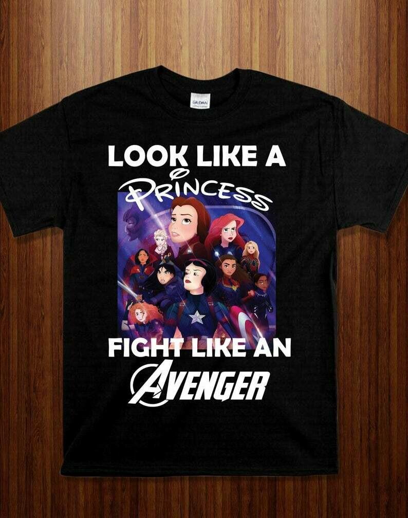 Princess fight like an avenger I'm going to Walt Disney