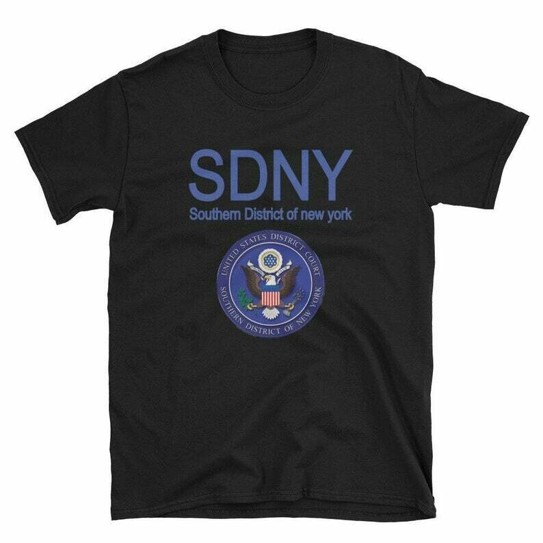 SDNY Resistance Shirt, Southern District of New York Shirt