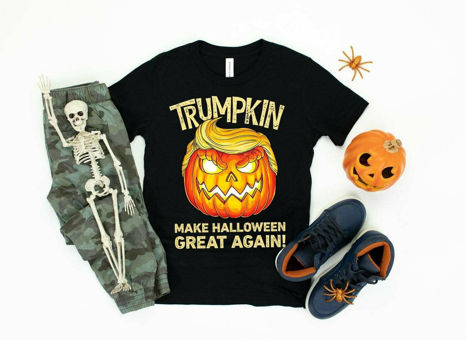 Trumpkin Halloween Shirt Trump Shirt Happy Halloween Trick or Treat Jack O Lantern All Hallows Eve shirt