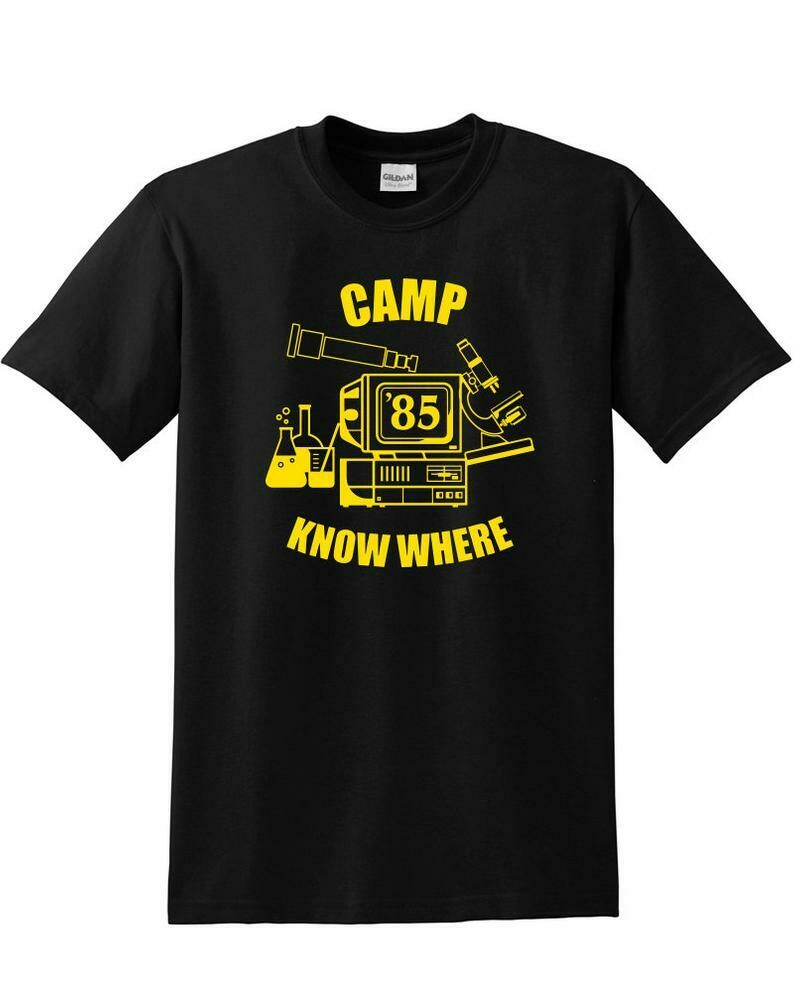 Camp Know Where T-shirt Stranger Camp Know Where Things shirt