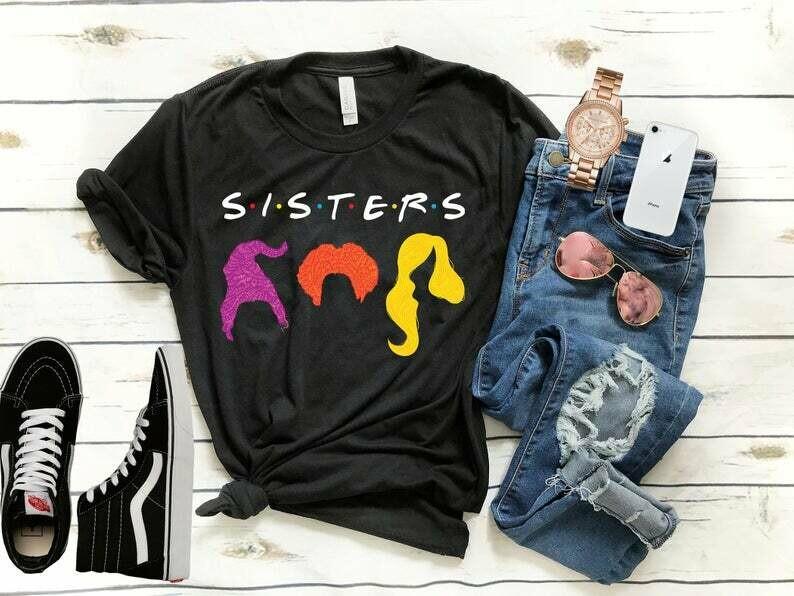 Hocus Pocus Shirt - Sanderson Sisters Shirt - Fall Shirt - Halloween T-shirt- Unisex Bella Canvas Shirt