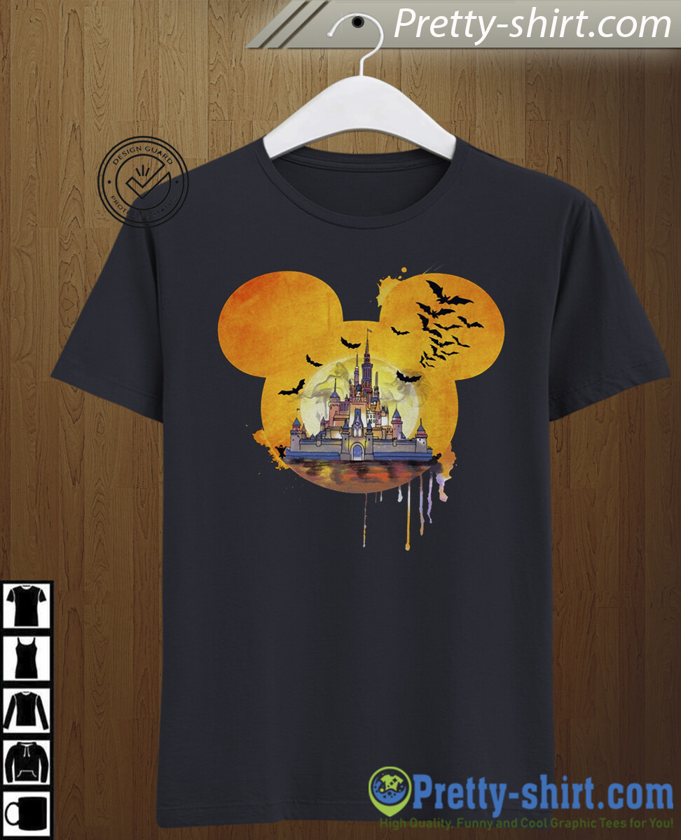 Disney Halloween Castle I'm going to Walt Disney Vacation Family Let's Go to Disney World Disneyland Tee Park T Shirt