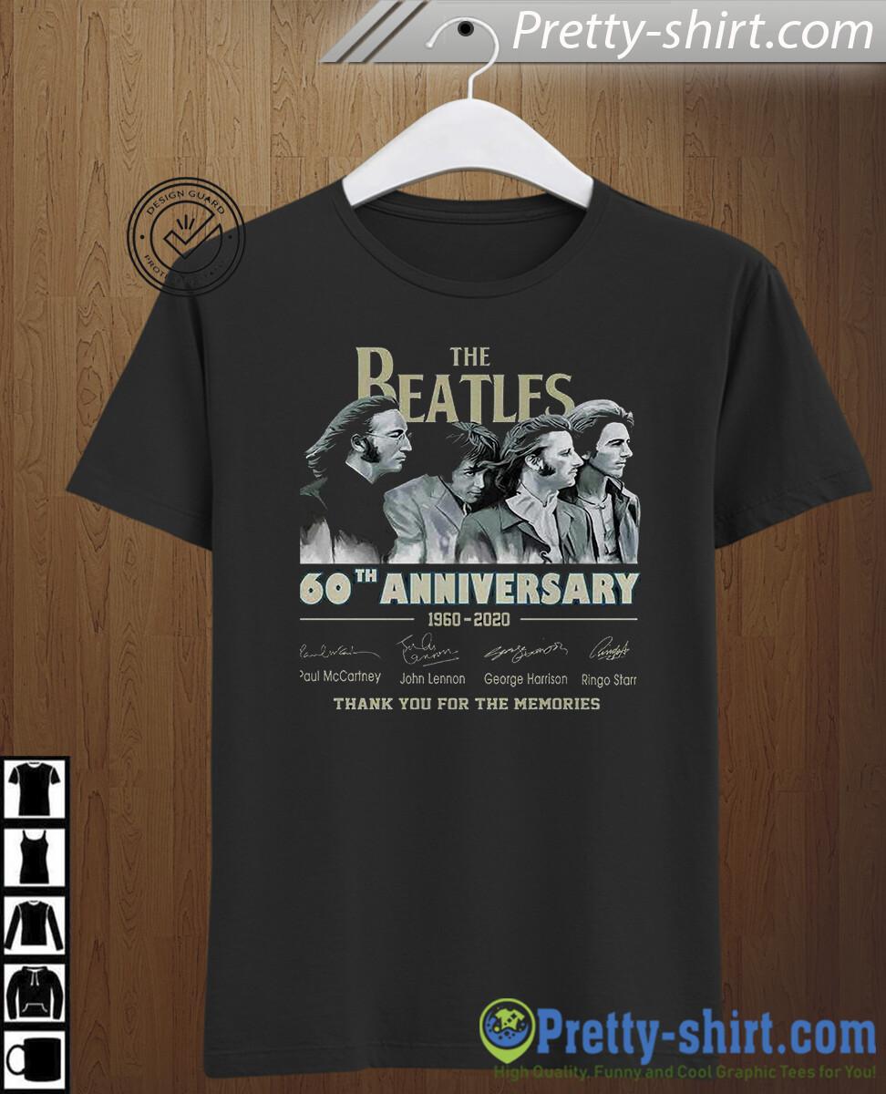 The Beatles 60 Anniversary The Beatles 1960-2020 Men T-Shirt