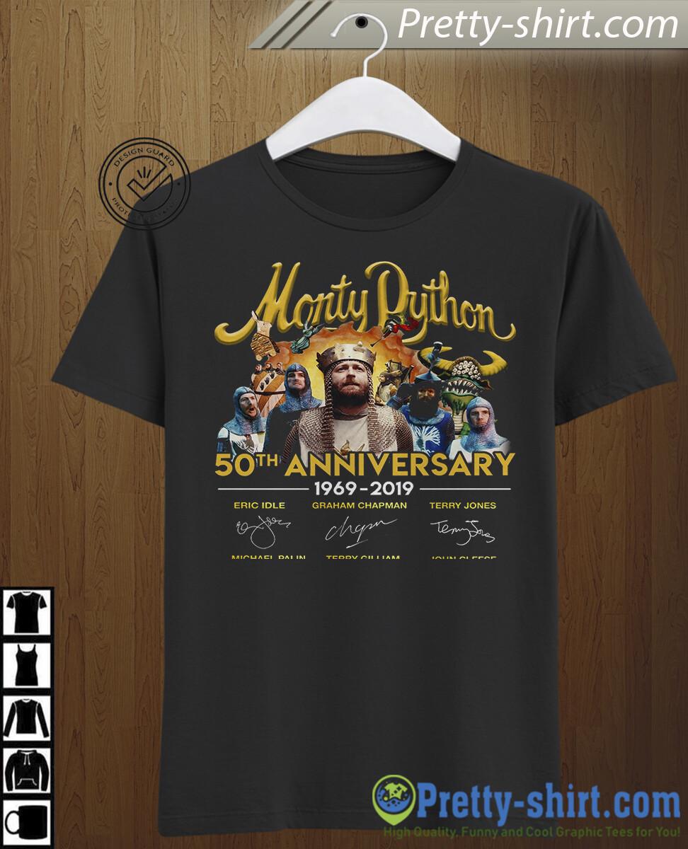 Monty Dython 50th Anniversary 1969 - 2019 Tshirt , Monty Dython Tshirt, Monty Dython, 50th Anniversary, Anniversary 50th, eric idle, eric idle tshirt, graham chapman, graham chapman shirt, terry jones