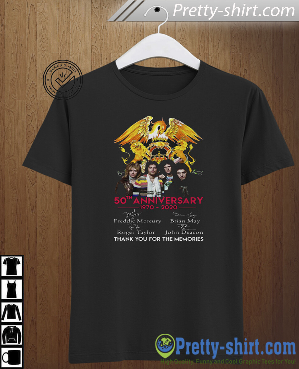 QUEEN Bohemian Rhapsody T Shirt, 50th years queen band anniversary 1970-2020 tee, Freddie Mercury T-shirt, Rock T Shirt, Queen Band T-Shir, Gold shirt, Rock, Rockshirt, Musicmerch, Freddiemercury