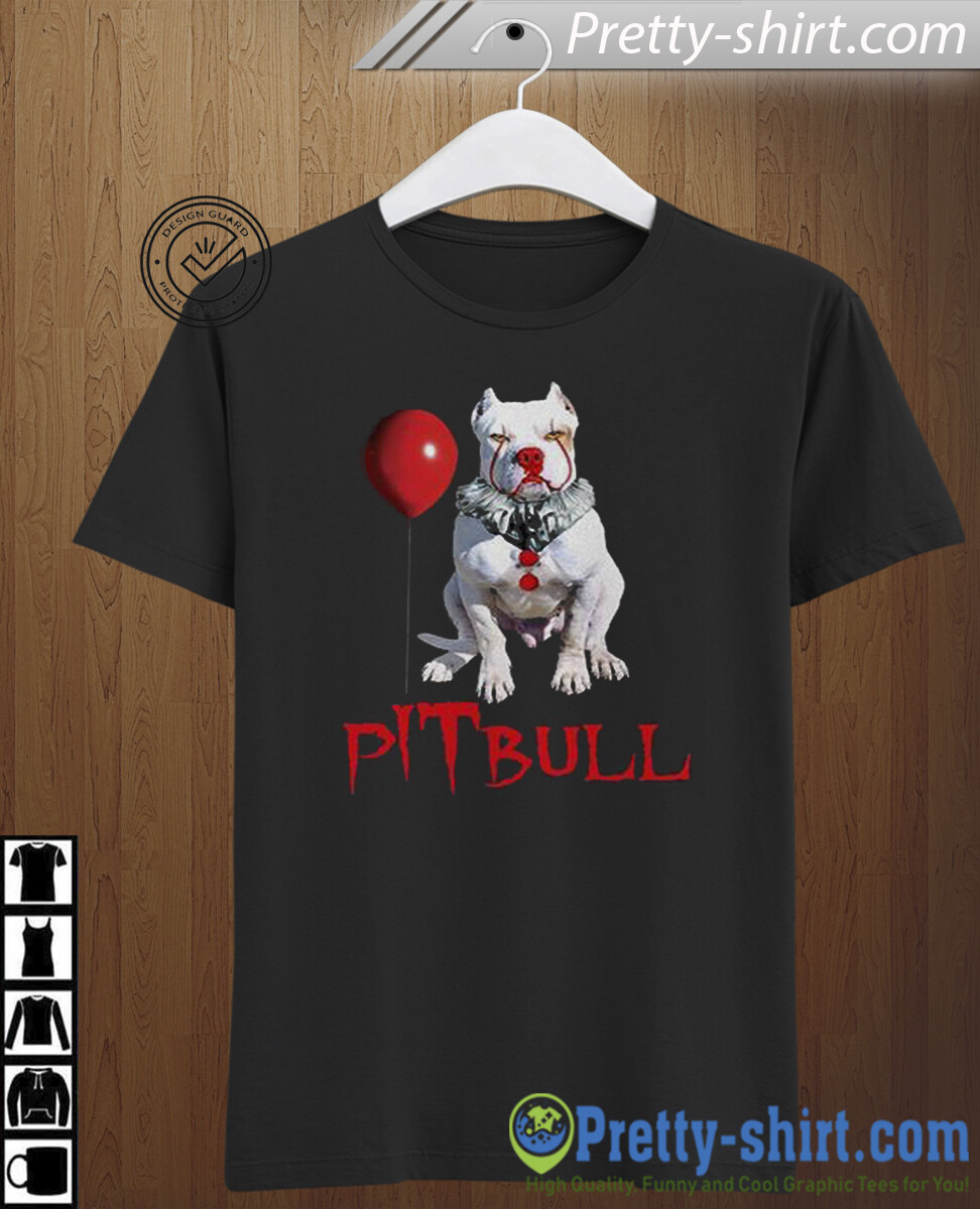 Horror Movie Halloween Shirt,  It   Pennywise The Dancing Clown Bob Gray, Gift Idea For Pitbull Lovers, Halloween, halloween shirt, gift for halloween, horror movie, pennywise, horror clown, IT movie