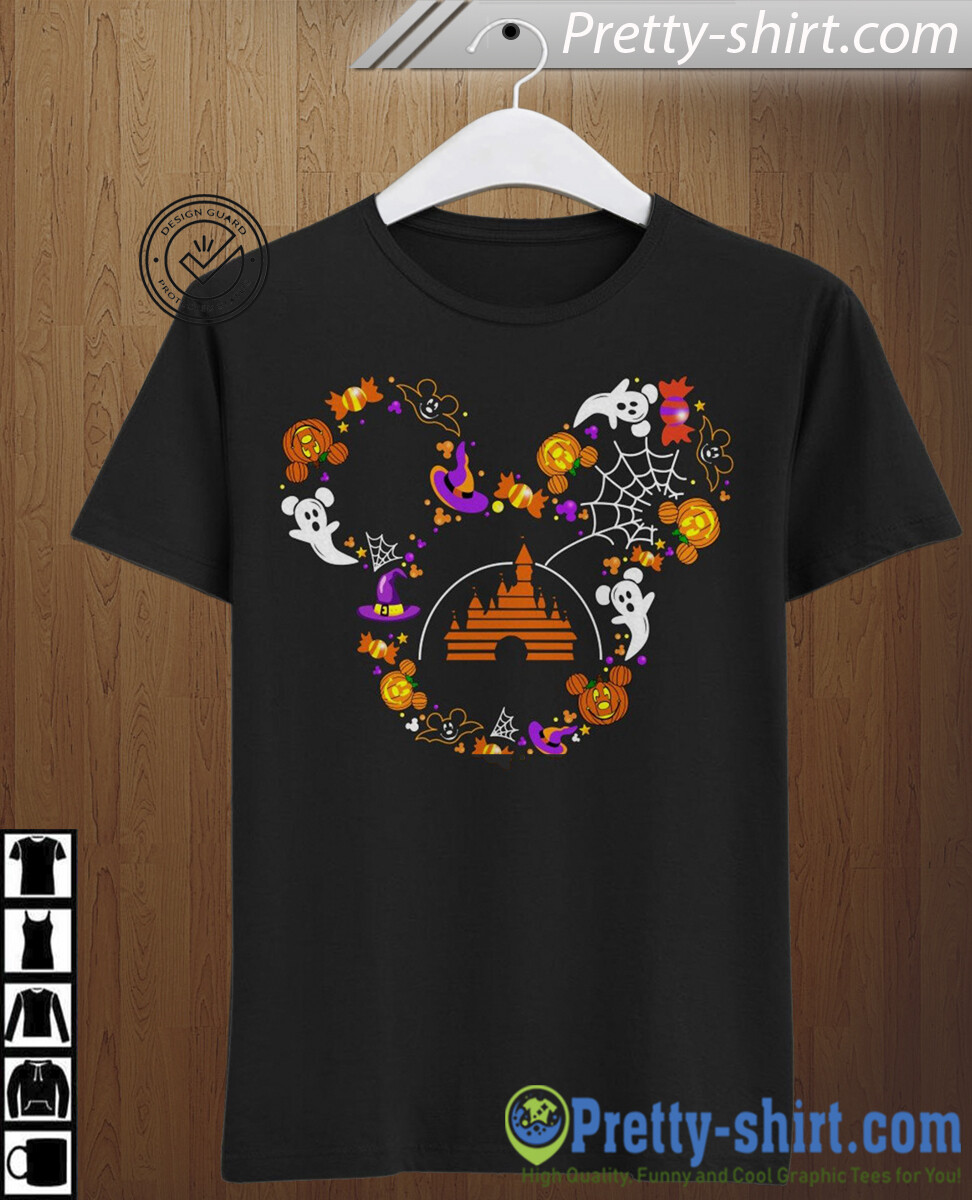 Disney Mickey Halloween Castle I'm going to Walt Disney Vacation Family Let's Go to Disney World Disneyland Tee Park T Shirt, Mickey Holloween, Holloween Shirts, Disney Castle shirt, disney women gift