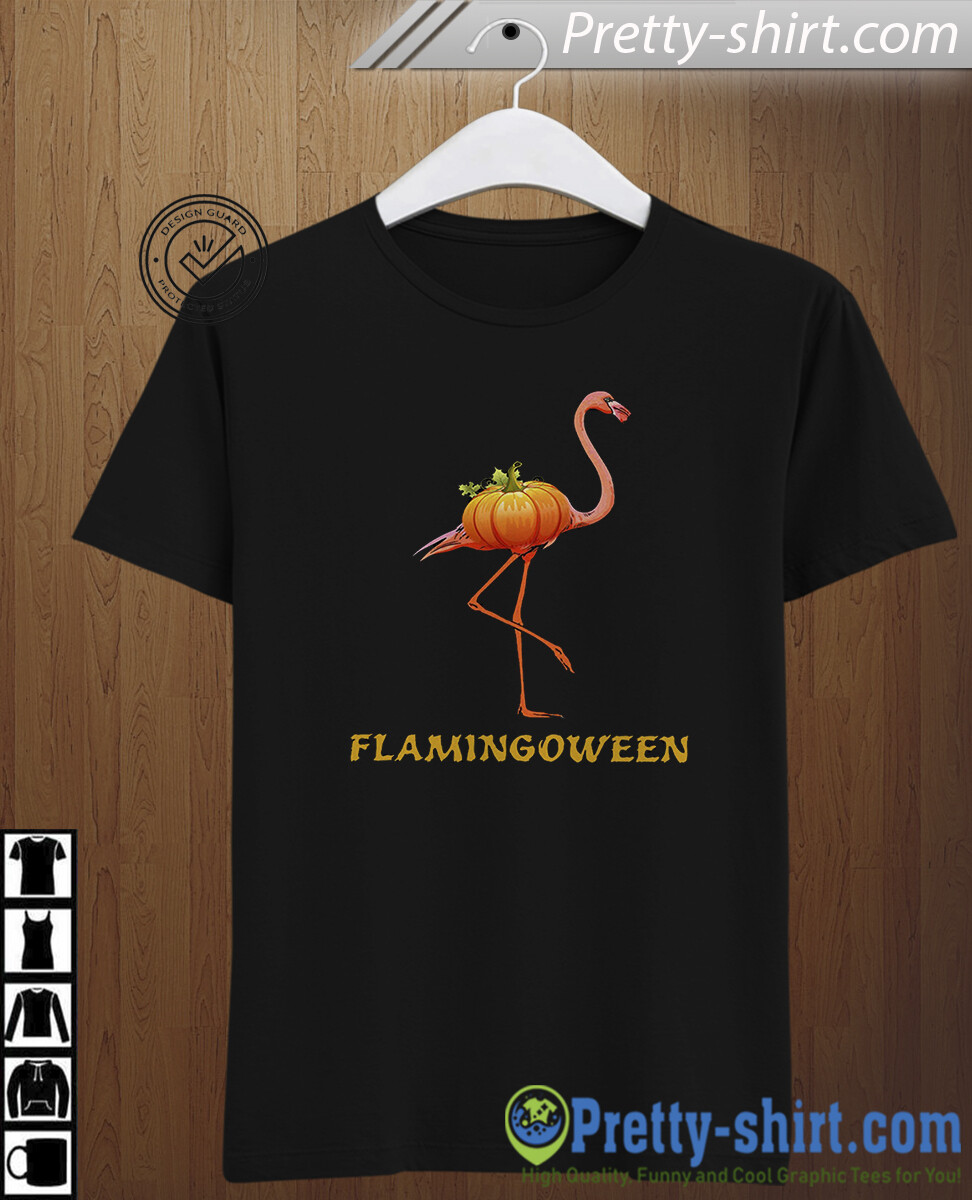 Flamingoween Shirt Halloween T-shirt Costume Tee Funny Cute Flamingo Witch Team Crew Group Matching Witches Gift For Men Women Kid Boy Girl, gift for women, gift for men, funny halloween tee