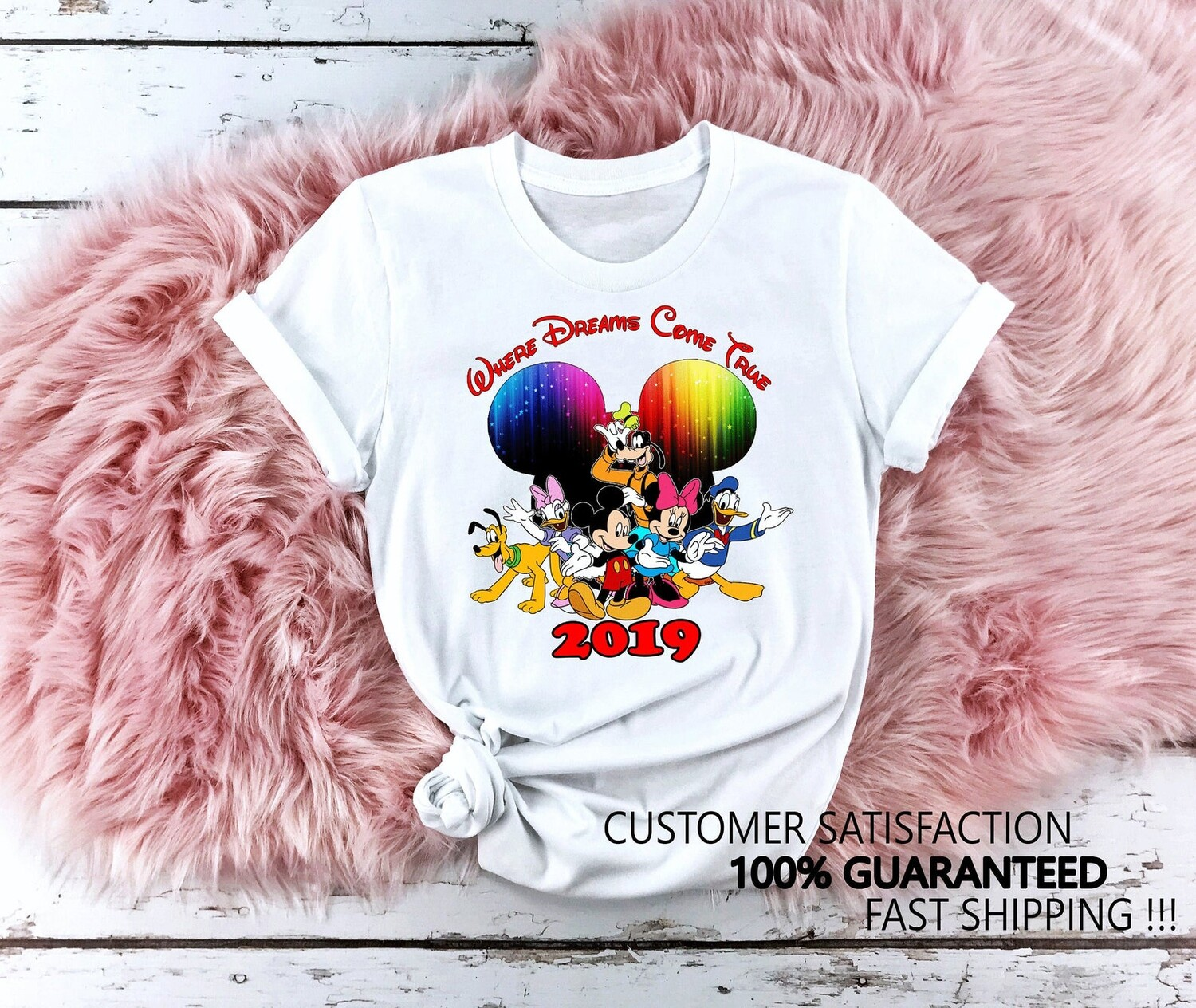 Disney World Where Dreams Come True, Disney Family Shirts, Family Vacation Shirts 2019, Disney Family Trip, Disney Personalized Shirts D41, matching disney tee, matching disney, disney family shirts