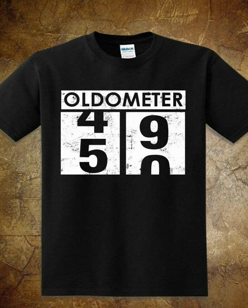 Oldometer 49-50 Gifts for Birthday Dad Mom Funny Straight Outta 1969 Vintage T-Shirt for Father's Day Mother's Day Christmas, Oldometer T shirt, Oldometer svg, 50th birthday gift, vintage 1969 shirt
