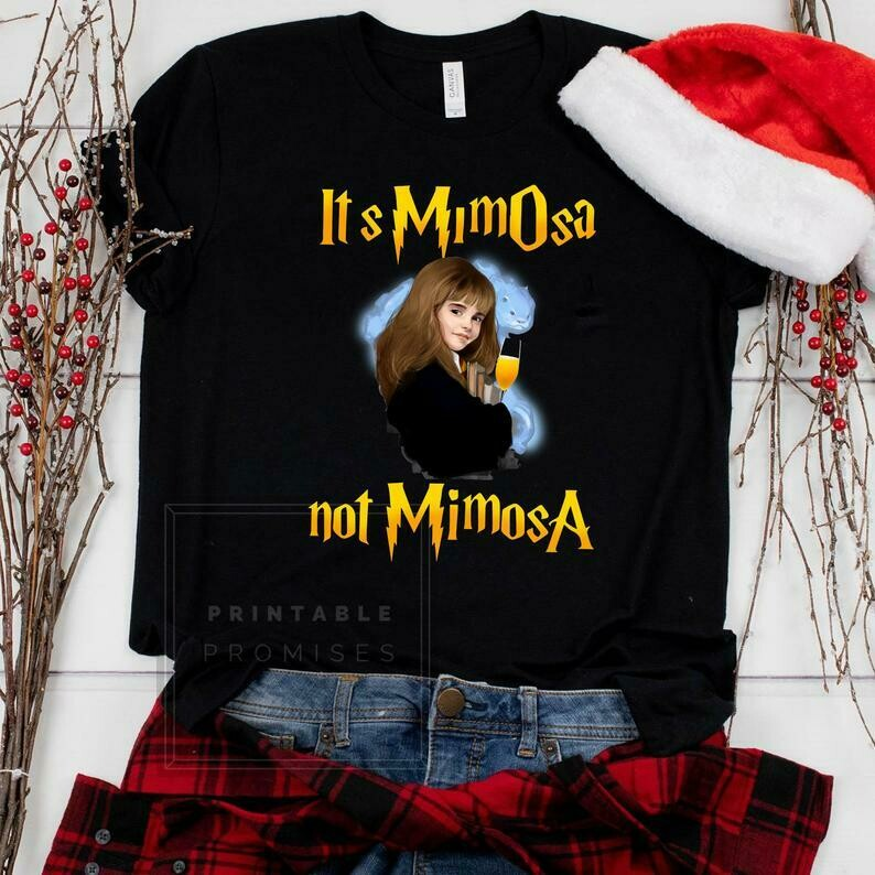 Vintage Hermione T-Shirt - It's Mimosa Not Mimosa shirt - Gift shirt For Harry Potter Fans Hermione mimosa shirt t-shirt harry potter shirt, harry potter funny, Emma Watson mimosa, Emma Watson funny