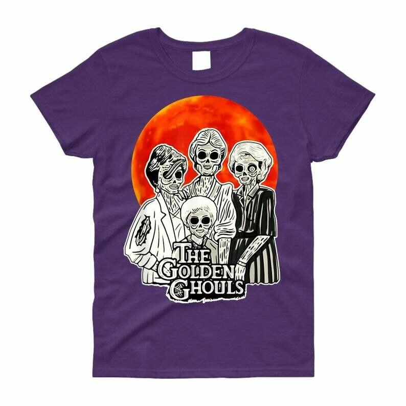 The Golden Ghouls Horror Hocus Pocus Witches Sanderson Sisters Mandala Disney Villains Halloween T Shirt, The Golden Ghouls, Hocus pocus Clipart, Hocus pocus svg, sanderson sisters, Bad witch Shirt