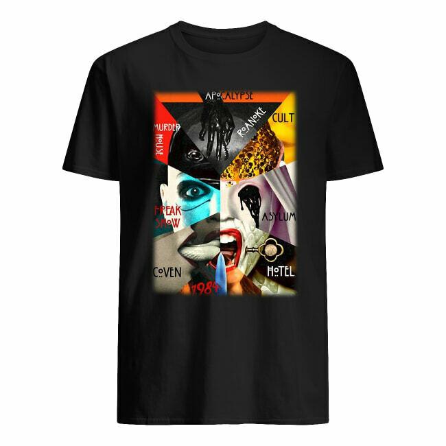 American Horror Story all season shirt