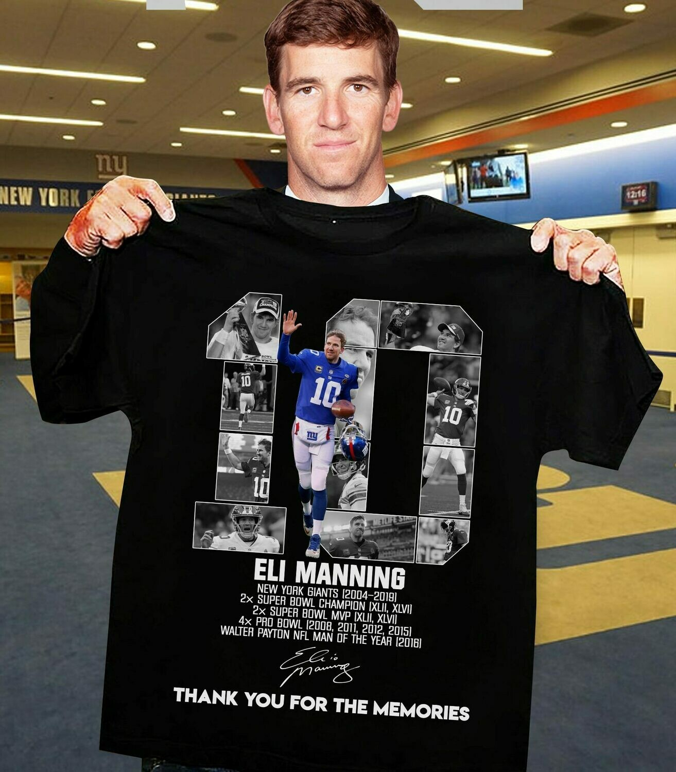 10 Eli Manning New York Giants ,Football Poster, Kids Decor, Mac Cave Gift, Sports Decor, birthday gift idea, NewYork Giants shirt, sorts poster, New York Giants, Eli Manning poster, Eli Manning shirt