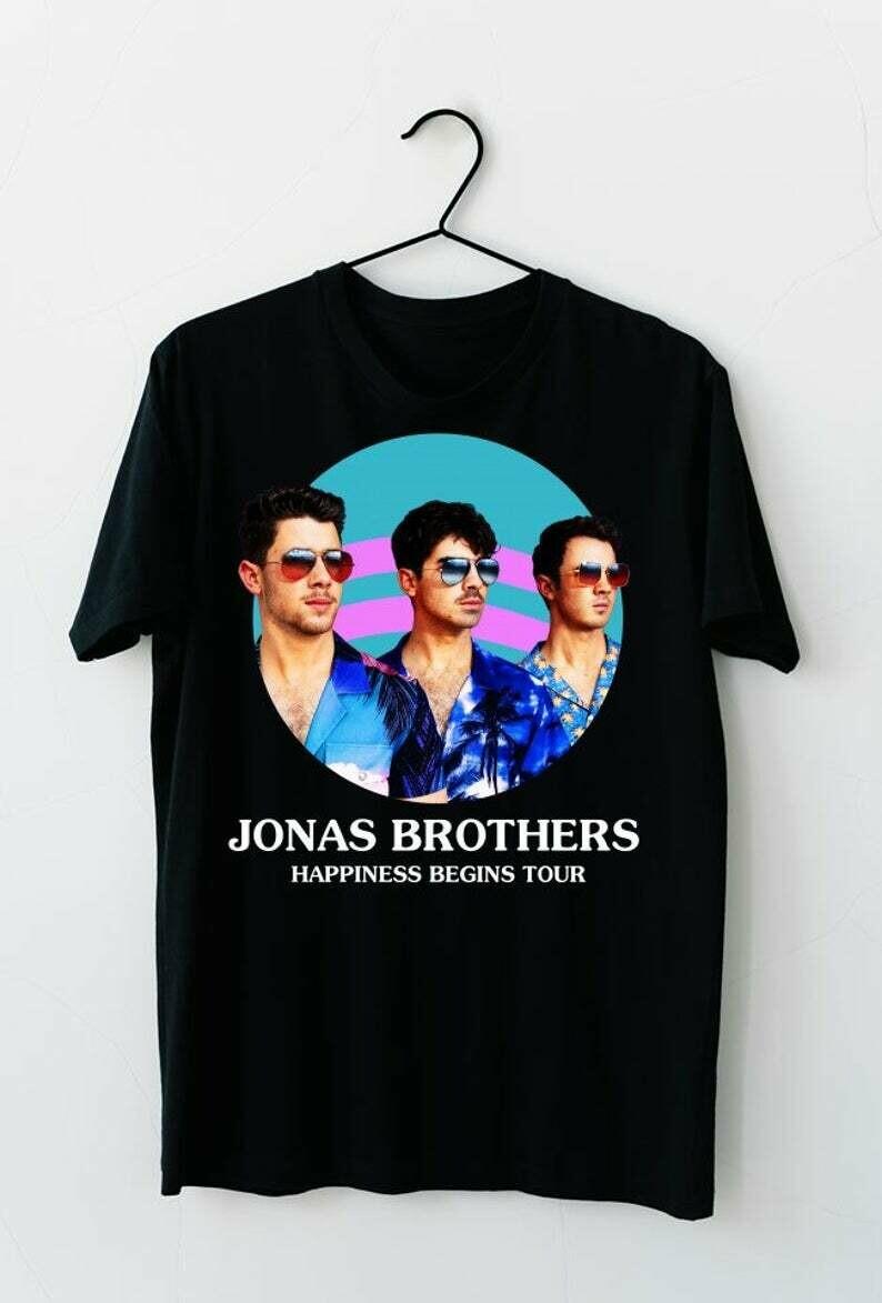 Jonas Brothers Happiness Begins Tour Nick Joe Kevin Jonas, Jonas Brothers shirt, Jonas brothers tour, Happiness Begins, The jonas brothers, Jonas brothers tee, Nick Jonas, Joe Jonas, Kevin Jonas