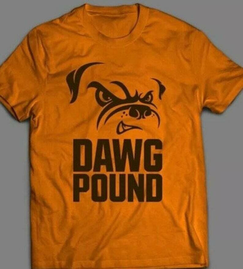 Cleveland Browns Inspired Dawg Pound Tee T shirt Multiple colors and sizes available,browns, football, cleveland browns, baker mayfield, odell beckham jr, mistake on the lake, cardiac kids, bakers doz