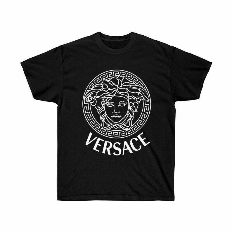 Versace shirt, Versace Logo Shirt, Versace T-shirt, Versace Inspired t shirt, Hypebeast shirt, Birthday gift, gucci shirt, Versace gift, birthday gift, gift for him, gift for her, fashion shirt