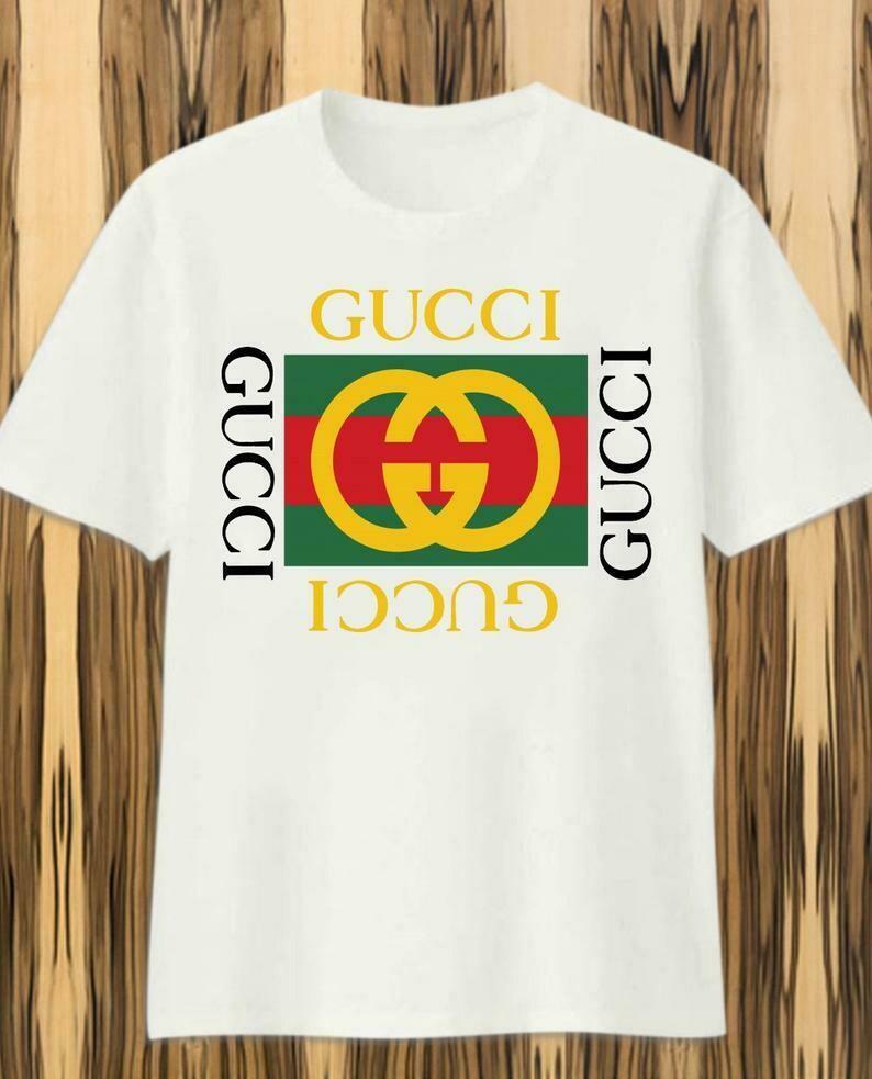 Classic Logo Gucci, Gucci Shirt, Gucci T-shirt, Gucci Logo, Gucci Fashion shirt, Fashion shirt, Gucci Design shirt,Snake Gucci vintage shirt, Balenciaga shirt, Branded Clothing, versace medusa