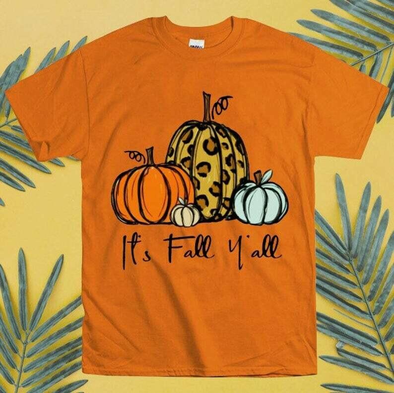 It's Fall Y'all Shirt, Fall Truck Shirt, Vintage Truck Shirtm Pumpkin Shirts, Pumpkin Shirts, Womens Fall Shirt, Womens Thanksgiving Shirt, fall shirt, fall shirts, pumpkin patch, pumpkin shirts