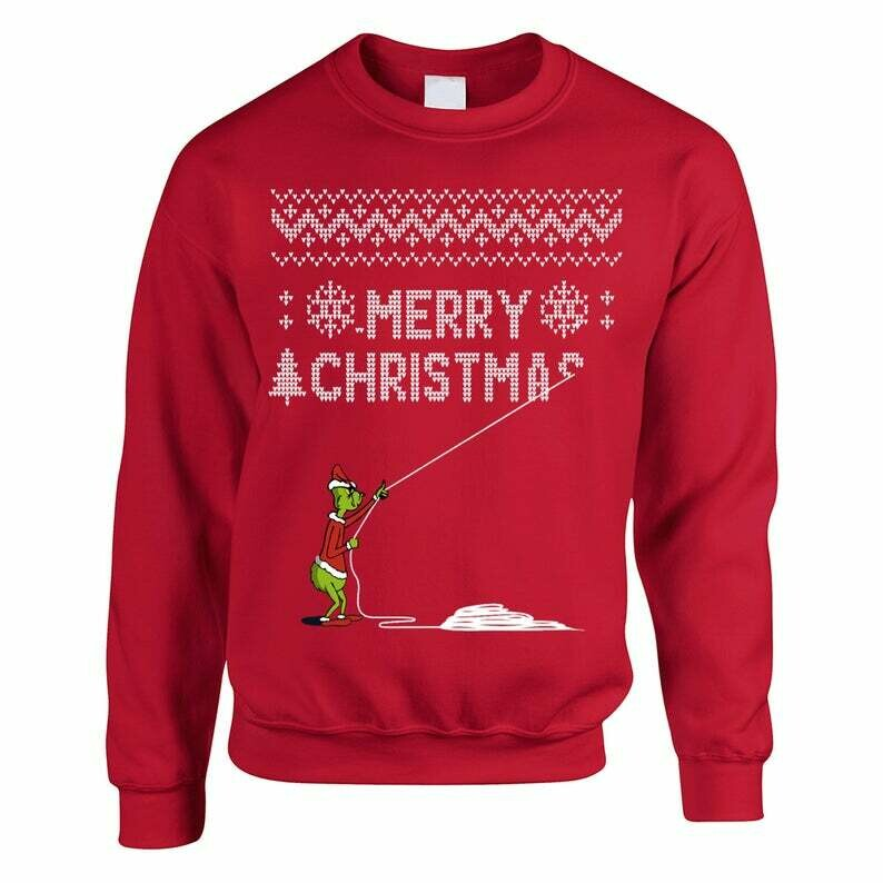 Funny Christmas Ugly Sweaters - The Grinch Who Stole Christmas Shirt - Family Christmas Ugly Sweater Party Shirts, Christmas Gifts, the grinch, who stole christmas, evil grinch, mean, naughty shirt
