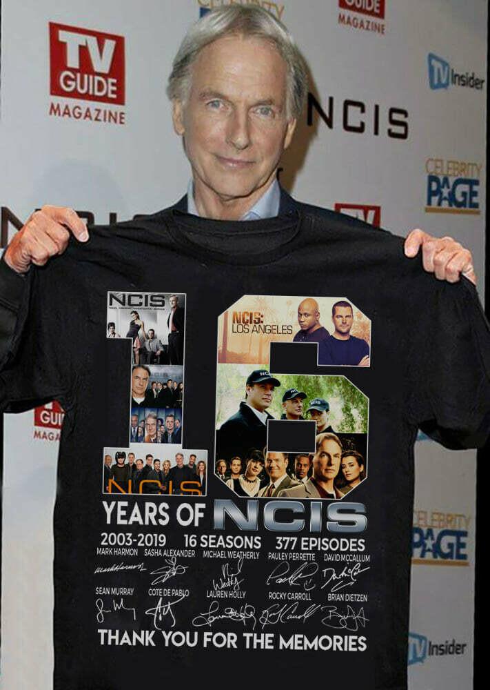 15 Year Of NCIS T Shirt For Men Idea For Fan Love NCIS Tv Show, NCIS: Los Angeles, Chris O'Donnell, Peter Cambor, Daniela Ruah, Adam Jamal Craig, LL Cool J, Linda Hunt, Barrett Foa, Eric Christian