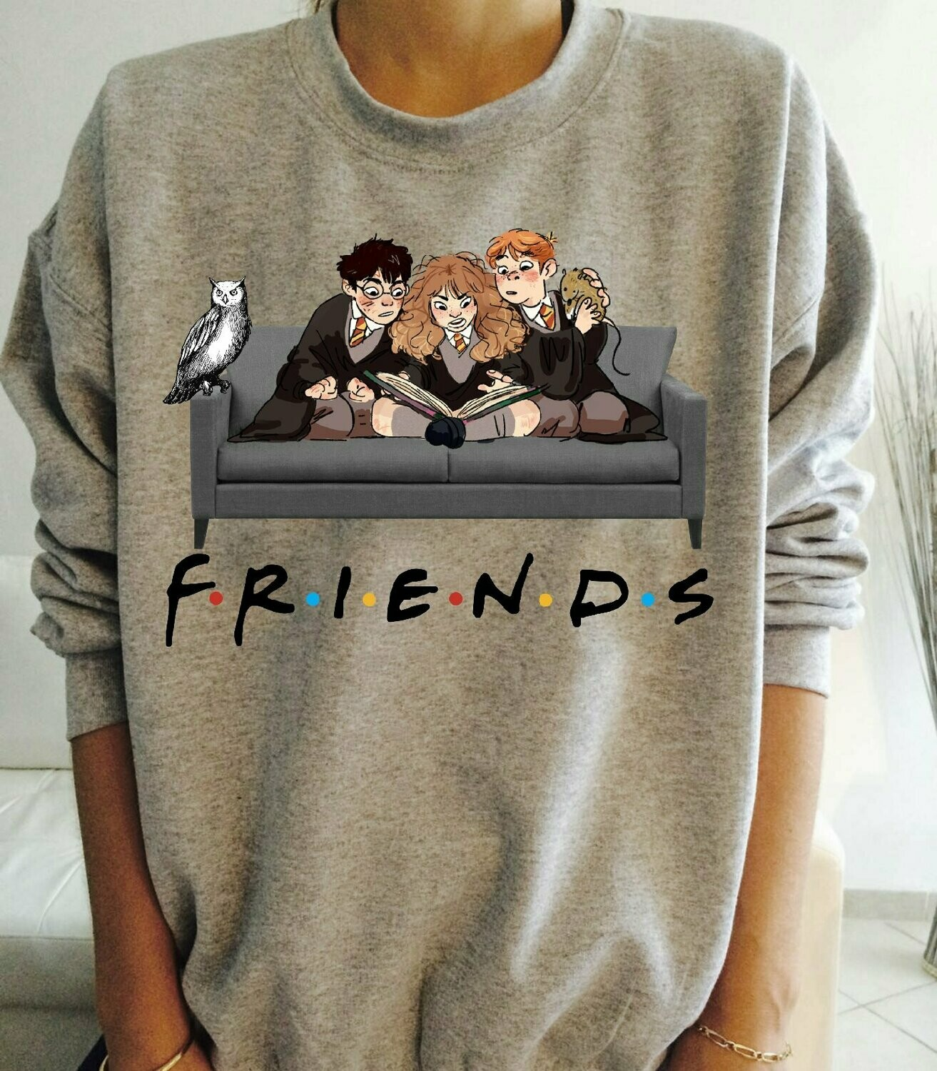 Best of Friends Harry Potter TV Show TV Cinema HBO Novelty Logo Funny T-Shirt Huge Fan Of Harry Potter, best gift for friends T-shirt, huge fan harrypotter, harry potter, huge fan of potter, potter hb