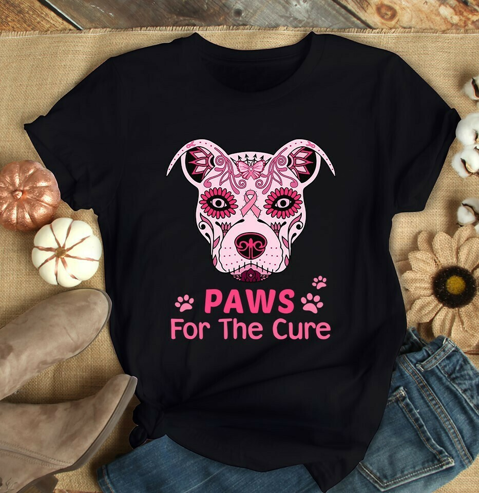 Paws, for the Cure, The world breast cancer t-shirt, Paw Magnets Bark For A Cure Pet Cancer, Dogs Because People Suck Paw Print T-Shirt, dogs because, people suck, dog, dogs, puppies, puppy