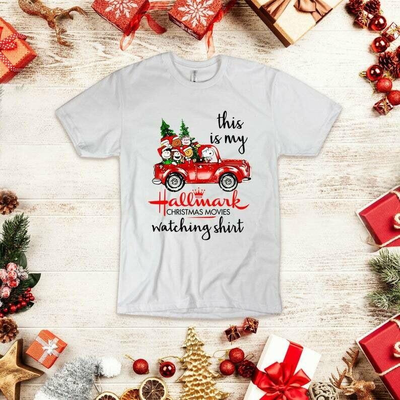 This is my Hallmark Christmas Movies Watching Shirt - Snoopy Hallmark Christmas Shirt - X-mas Shirts for Men & Women, snoopy shirt, snoopy, hallmark shirt, hallmark t shirt, hallmark shirts