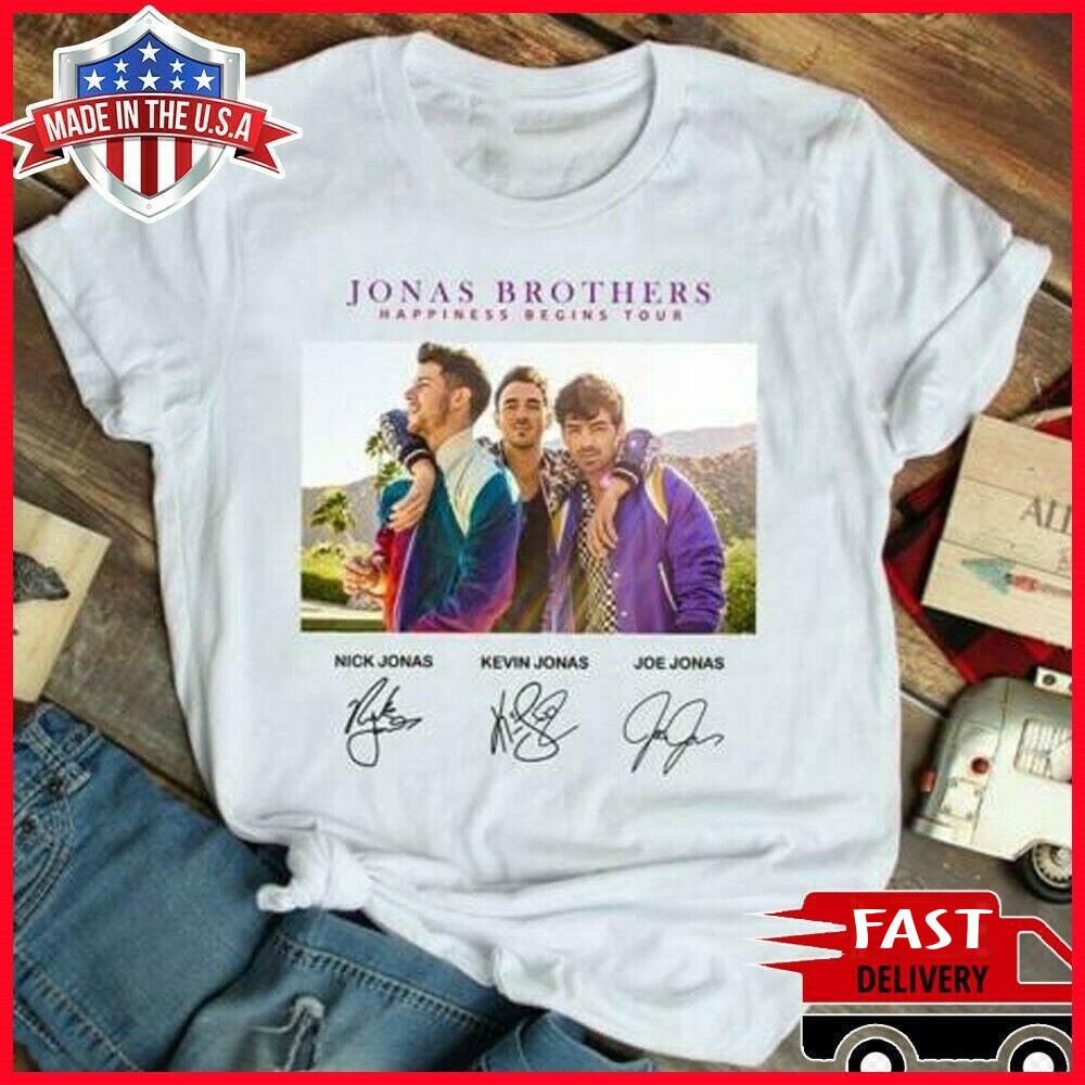 Jonas Brothers Happiness Begin Tour T-shirt Jonas Cool Gift Brothers Happiness Begin T-shirt 2019 Tour, Jonas Shirt, Jonas Brothers Shirt, First Given Name, Nick Jonas Shirt, Joe Jonas shirt