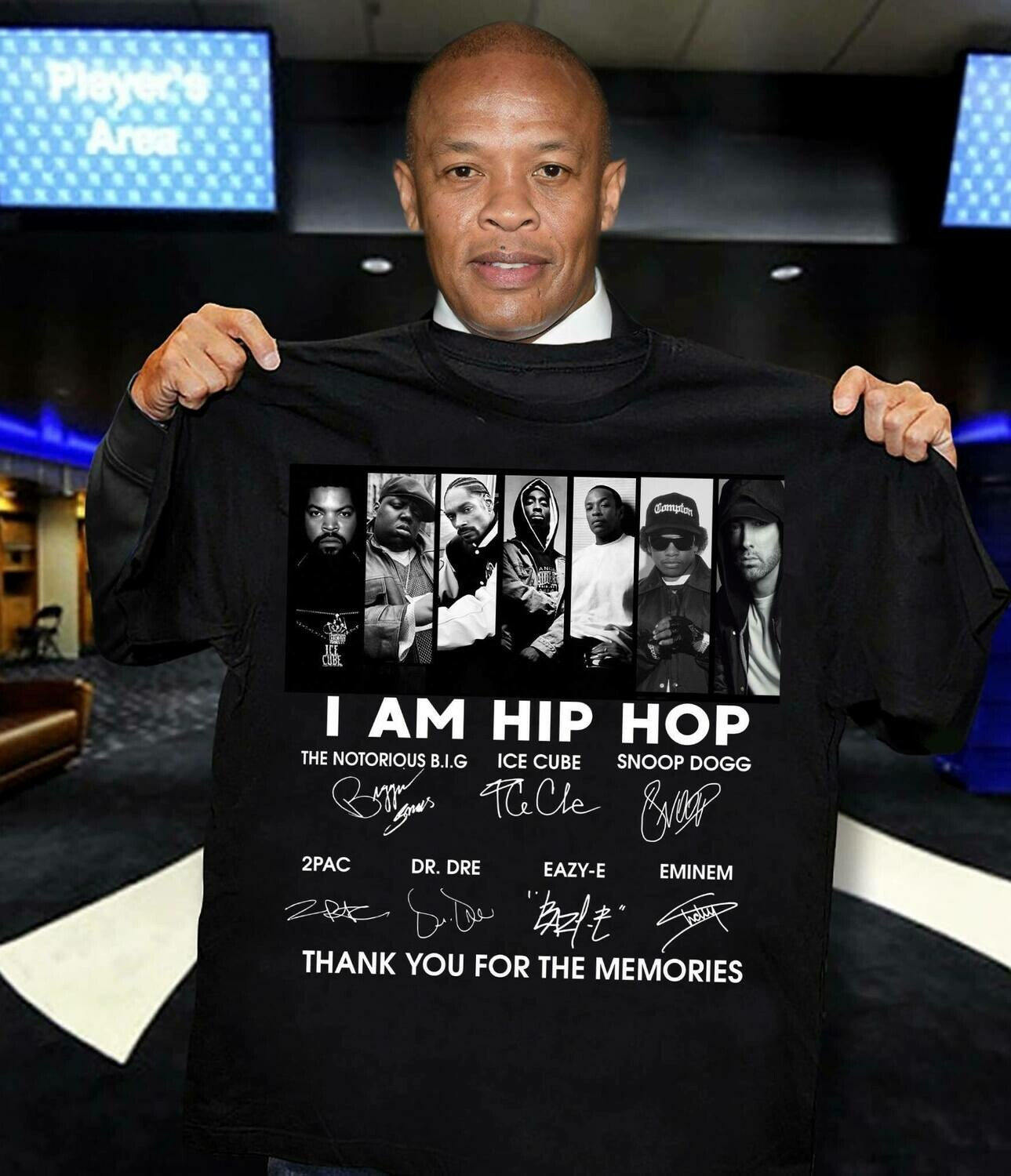 I Am Hip-Hop Perfect Gift For A Passionate Fan shirt
