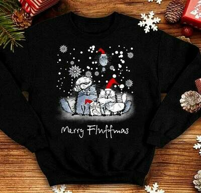 Cat Merry Fluffmas,Merry Christmas Cat,Meow Merry Cat,Cat Lover Gifts,Funny Cat Christmas,Merry Catmas shirt,Cat Mom Christmas, Merry Christmas Cat, Meow Merry Cat, Cat Lover Gifts, Funny Cat tee