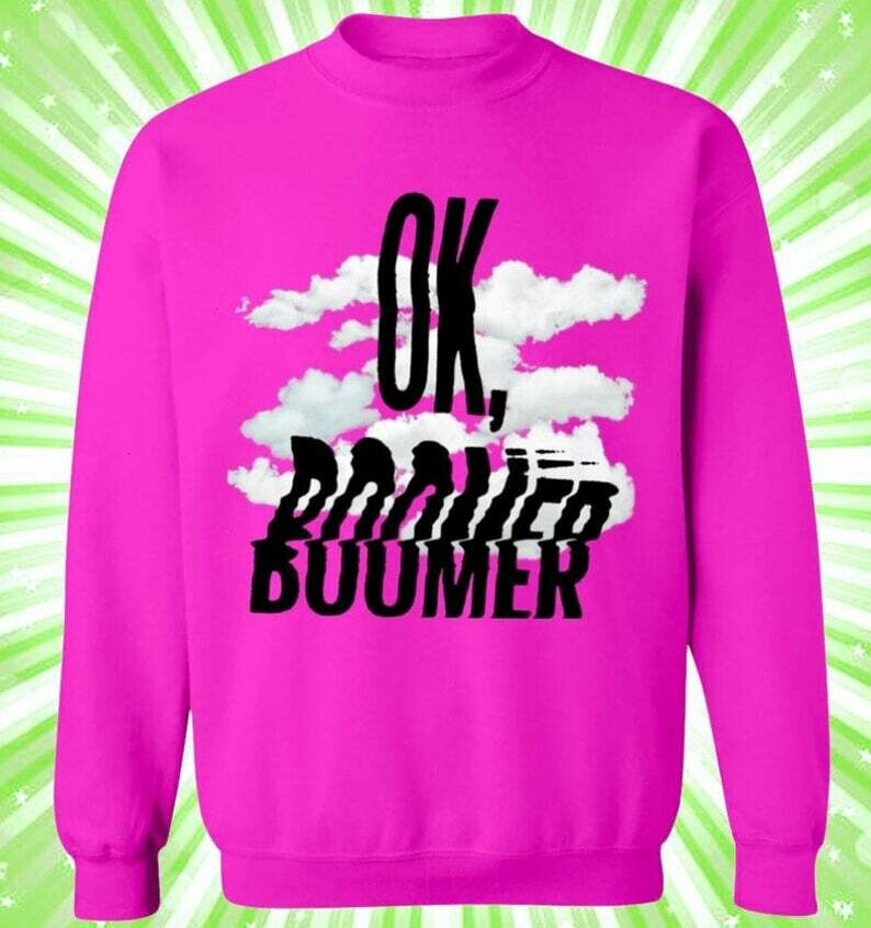 OK Boomer funny quote Christmas movies sweatshirt Christmas shirt,Christmas movies shirt,watch christmas movies,ladies Christmas shirts, Christmas blanket, Christmas quilt, hallmark xmas quilt tee