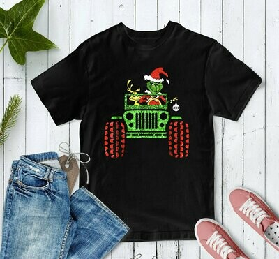 Christmas, Christmas Shirts, Christmas Shirt, Christmas Gifts, Grinch Shirt, The Grinch, Grinch Shirt, Jeep Shirt, Red Truck Christmas,  Christmas, Christmas Shirts, Christmas Gifts, Christmas Shirt