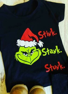 Stink Stank Stunk Grinch Shirt, Christmas grinch shirt, grinch shirt, Christmas grinch tee, christmas shirts, grinch shirt kids, christmas gift, grinch shirt women, Christmas grinch, grinch shirt