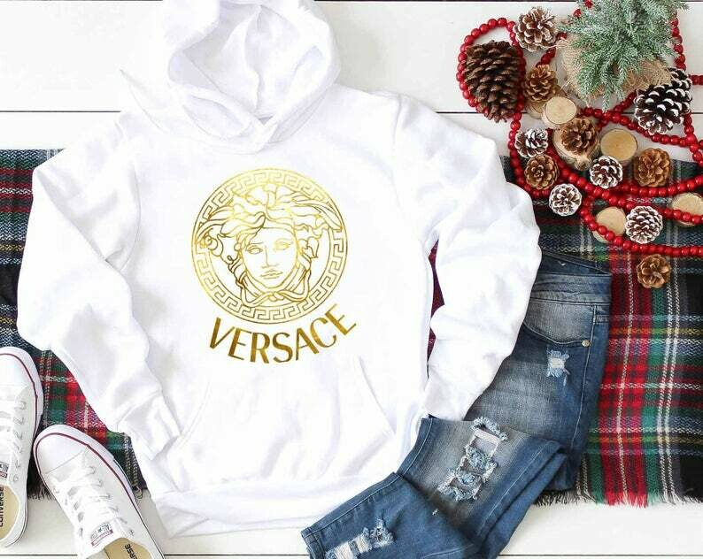 Versace Christmas Shirts Louis Vuitton Hoodie Christmas Hoodie Gucci Shirt Gucci T Shirts Gucci Inspired Gucci Logo Chanel Versace Versace gift, birthday gift, gift for him, gift for her tee
