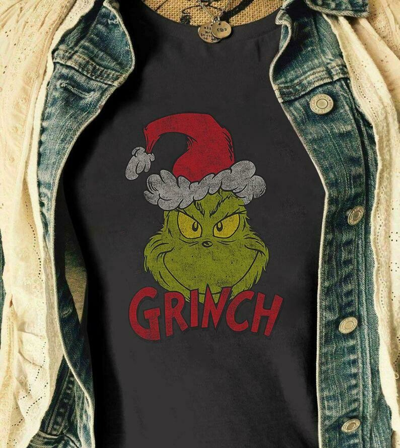 Grinch Christmas Funny Shirt For Men, Women | Awesome Christmas Shirt, Merry Christmas, The Grinch Christmas T-shirt Gift, Family Christmas, Grinch Christmas, Xmas Shirt, Buffalo Plaid, Xmas Gift tee