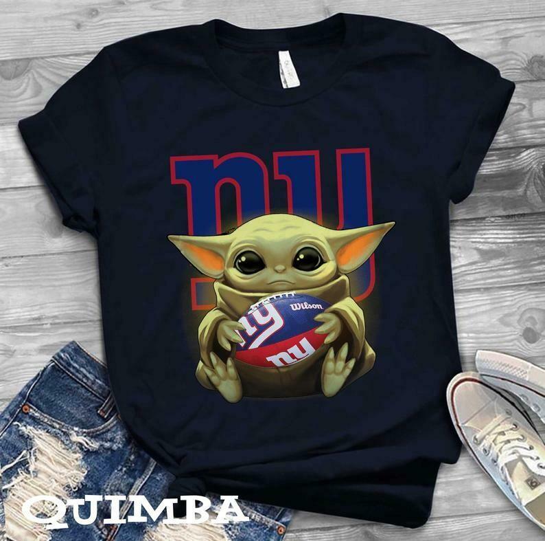 New York Giants shirt Baby Yoda shirt, Star Wars t-shirt, Baby Yoda Star wars Shirt Cotton T-Shirt With Sayings, Disney Lilo Stitch, baby Yoda Star War, Yoda Stitch Friends, Star Wars Fanatics