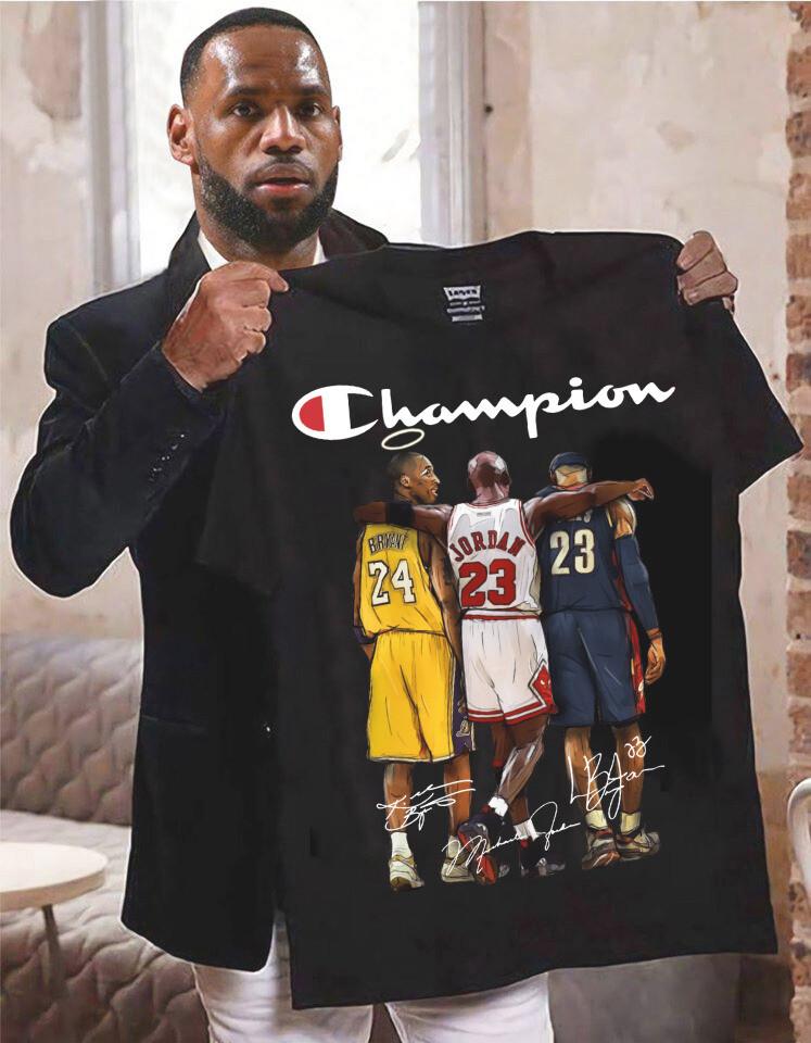 Kobe Bryant Michael Jordan Lebron James GOAT Tshirt, kobe bryant, lebron james, michael jordan, basketball, los angeles lakers, chicago bulls, GOAT, kyle kuzma, chicago bulls, los angeles lakers Tee