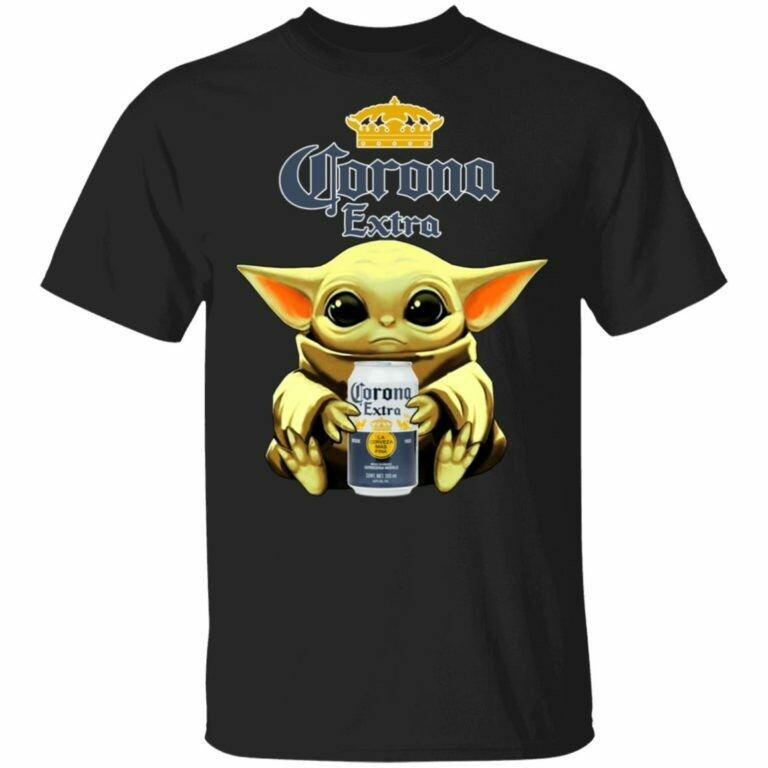Baby Yoda Hug Corona Extra Beer Shirt, I Survived Corona Virus 2020 - Health Lovers - Nurse Care, I Have Coronavirus and Lyme Disease Meme Funny Joke, coronavirus tee, survived coronavirus tee