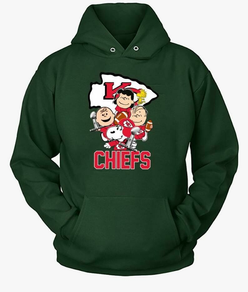 Kansas City Chiefs Snoopy,Woodstock and Charlie Brown,Peanuts Friends Floating Football Team Dad Mon Kid Fan Gift T-Shirt, KC Football Team, Kansas City Chiefs, Funny Football gift Football life shirt
