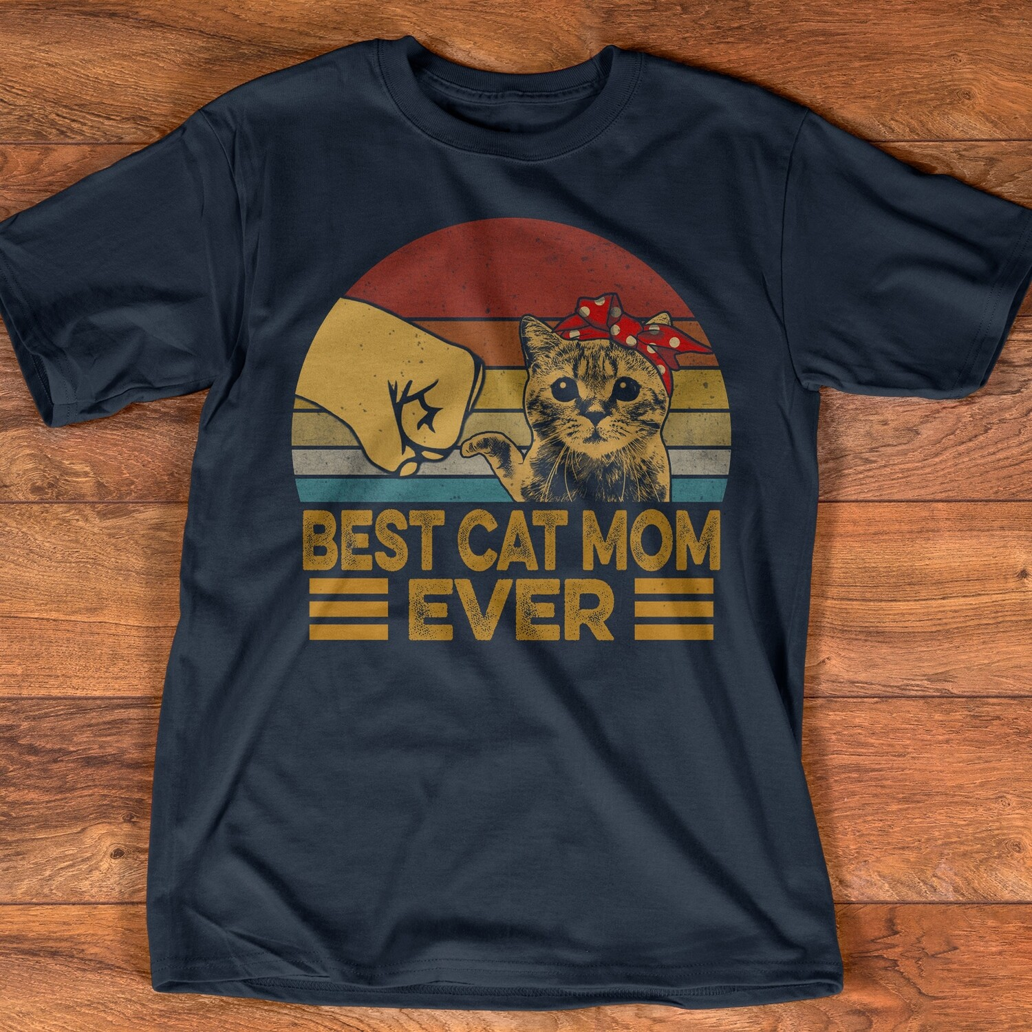 Vintage Best Cat Mom Ever T-Shirt Mother's Day Gift, cat lovers, Best Cat Mom Ever, Vintage Best Cat Mom, cat mom, cat mom gift, cat mom ever tshirt, best cat mom, mother of cats, mother of cat tee
