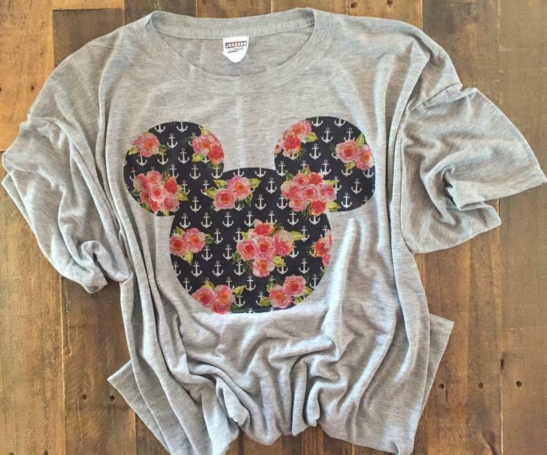 pretty mouse ears, mouse ears, disney shirt, disney toddler shirt, disney womens shirt, ladies disney shirt, cute disney shirt