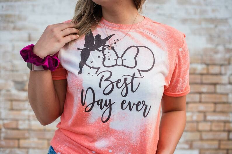 Best day ever disney shirts for women, disney world shirts for women, disney shirts for plus size, womens disney shirts, mickey mouse bleach