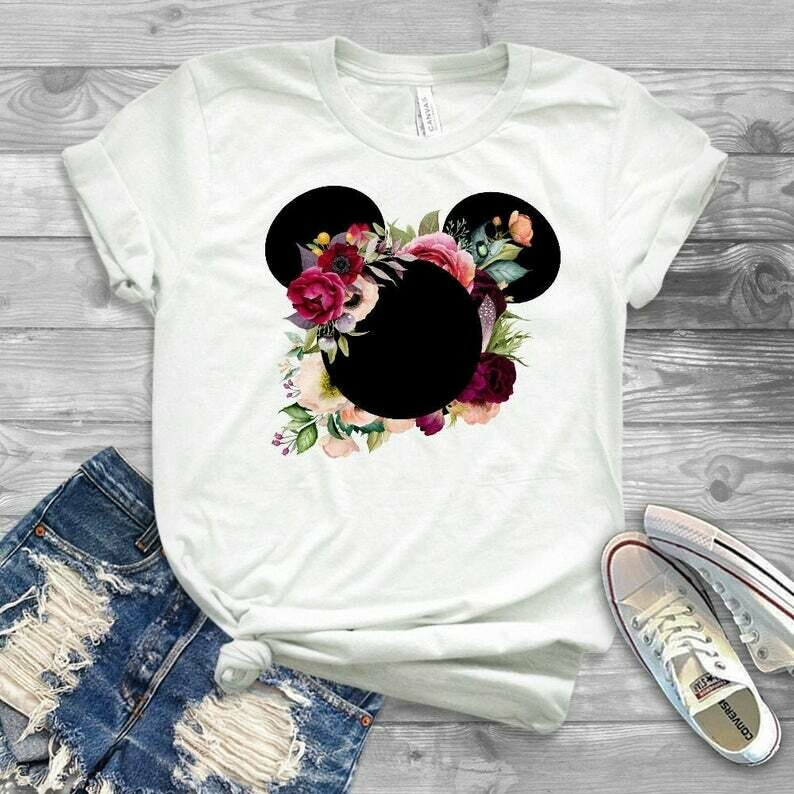 disney shirts, disney womens shirt, new years disney shirt, ladies disney shirt, kids disney shirt, disney flowers, disney shirts for women