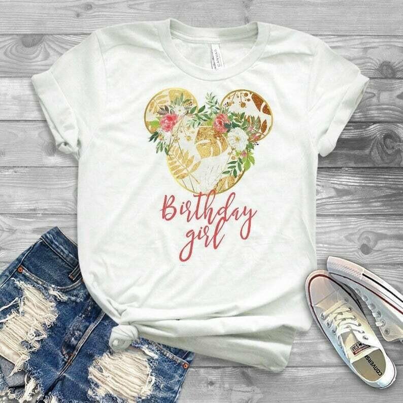 disney birthday shirt, 18th birthday shirt, unicorn birthday, 18th birthday, birthday gift, shirt, birthday suprise shirt, mickey bday