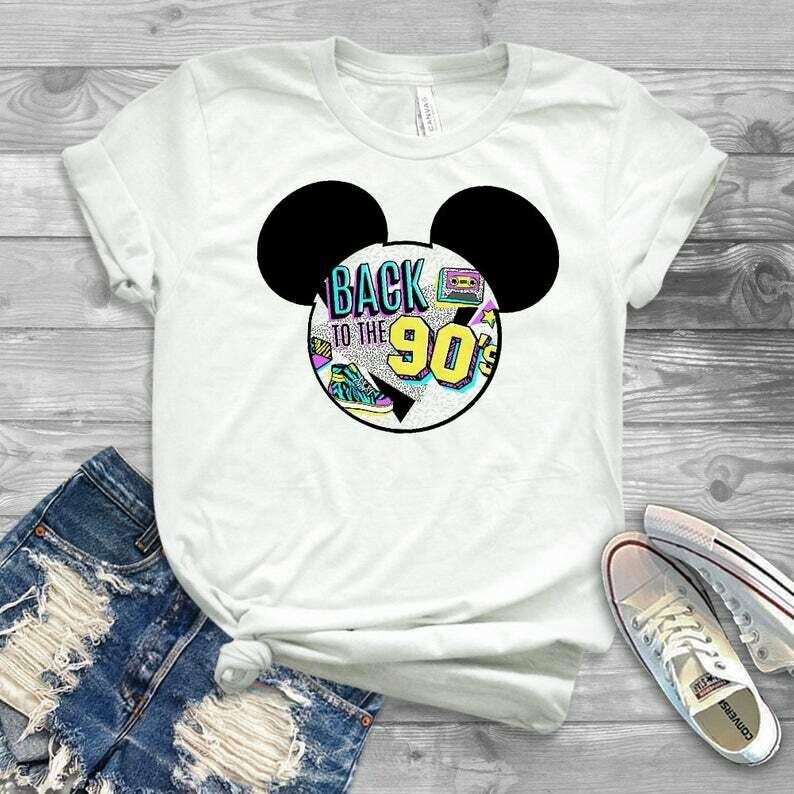 disney 90's night shirt, disneyland after dark shirt, 90s disneyland shirt, 90s, 90's, disneyland, shirt, after dark