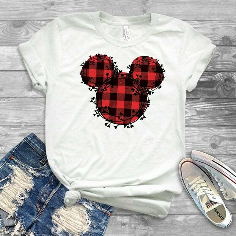 mickey shirt, disney shirt, womens disney shirt, ladies disney shirt, trendy disney shirt, christmas disney shirt, mommy and me disney