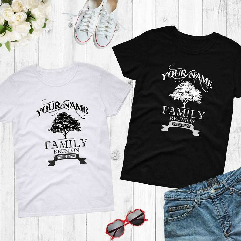Family Reunion Adult and kids ,Toddler/ Custom Family reunion T-shirt/ Your Family Reunion Shirt/personalized Family shirt G22